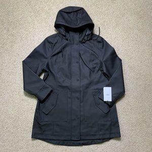 $250 UGG Rylie Rain Black Jacket Coat Size XL